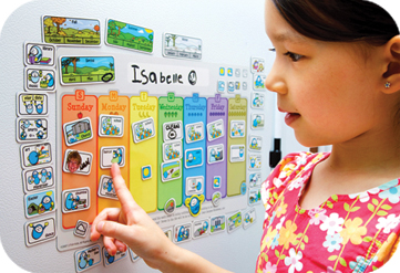 magnetic calendars for kids
